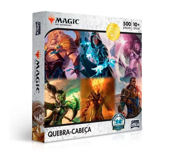 Quebra-Cabeça Magic The Gathering 500 peças