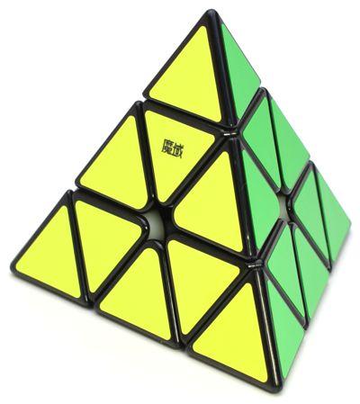Pyraminx Moyu Magnético Preto