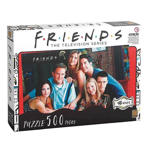 Quebra-Cabeça Friends 500 peças