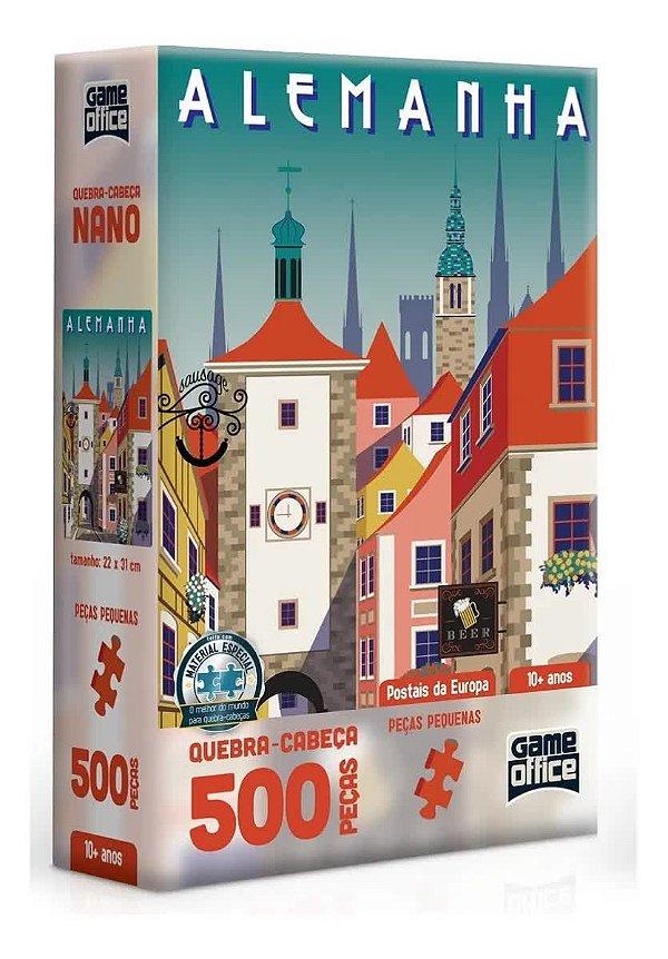 Quebra-Cabeça Postais da Europa - Alemanha 500 Peças Nano