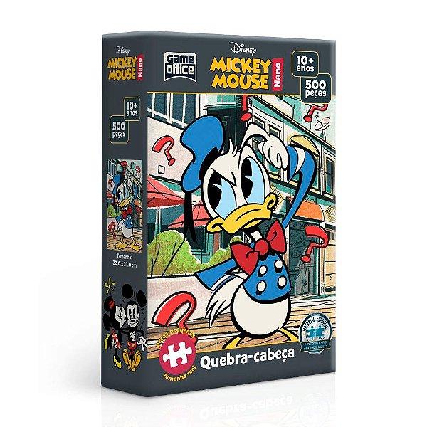 Quebra-Cabeça Mickey Mouse - Donald 500 Peças Nano