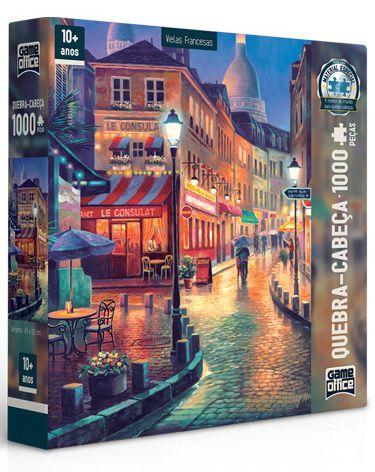 Quebra-Cabeça Viela Francesa 2 - 1000 peças