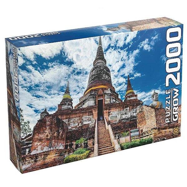 Quebra-Cabeça Templo Tailandês 2000 peças