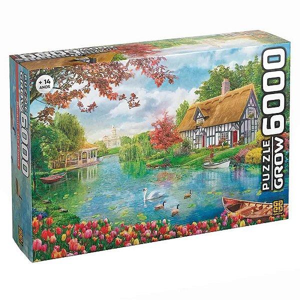 Quebra-Cabeça Recanto das Flores 6000 peças