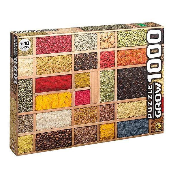 Quebra-Cabeça Especiarias 1000 peças