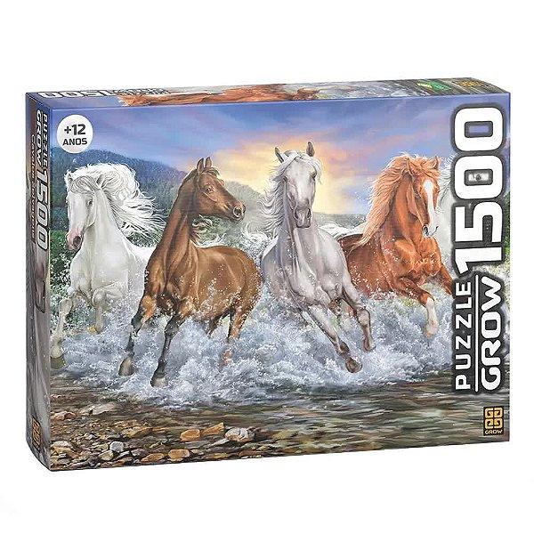 Quebra-Cabeça Cavalos Selvagens 1500 peças