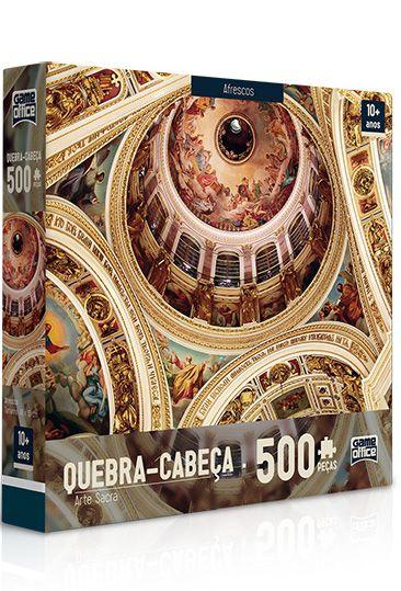 Quebra-Cabeça Arte Sacra - Afresco 500 peças