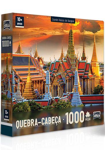 Quebra-Cabeça Grande Palácio de Bangkok 1000 peças