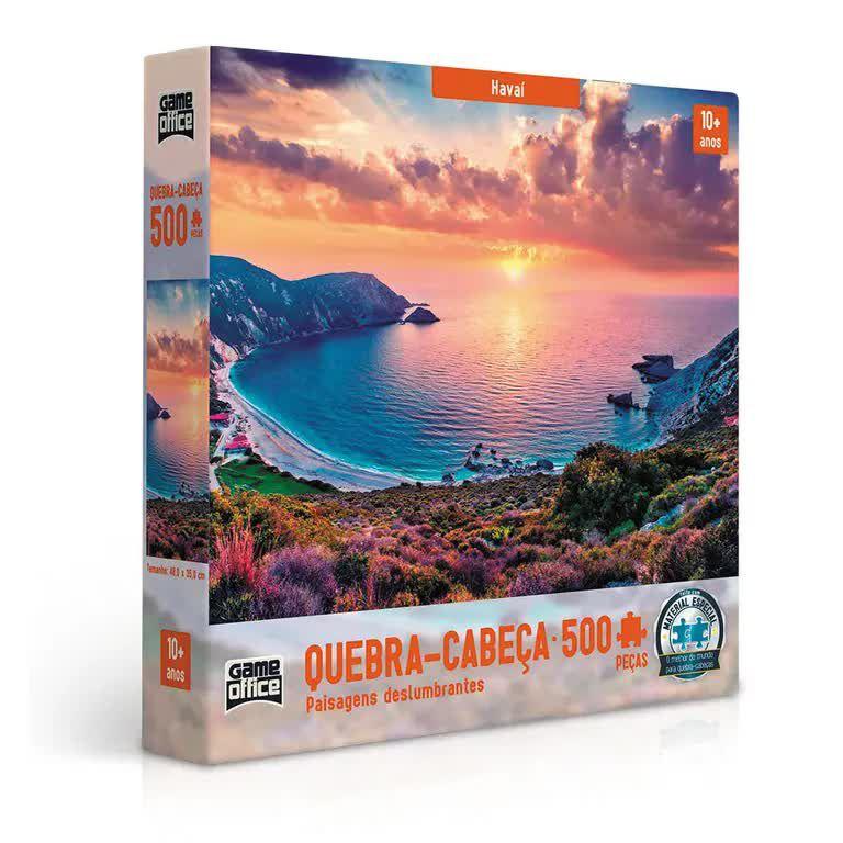 Quebra-Cabeça Paisagens Deslumbrantes - Havaí 500 peças