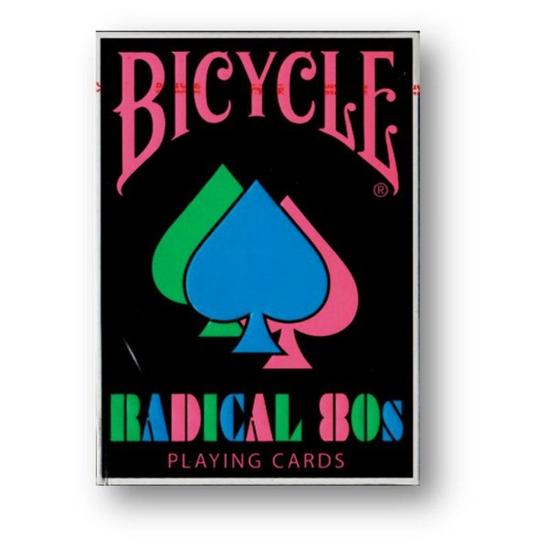 Baralho Bicycle Radical 80s