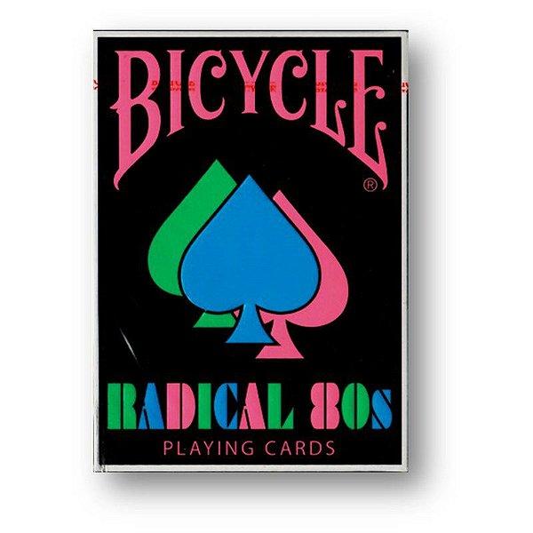 Baralho Bicycle Radical 80s