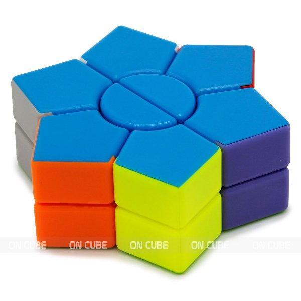 Cubo Mágico Super Square-1 Star Hexagonal 2-layer