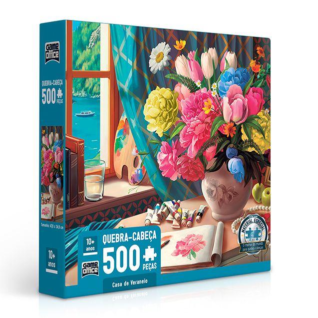 Quebra-Cabeça Casa de Veraneio 500 peças