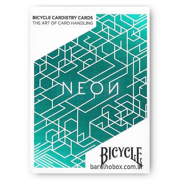 Baralho Bicycle Neon Cardistry