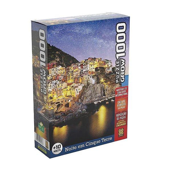 Quebra-Cabeça Noite em Cinque Terre 1000 peças