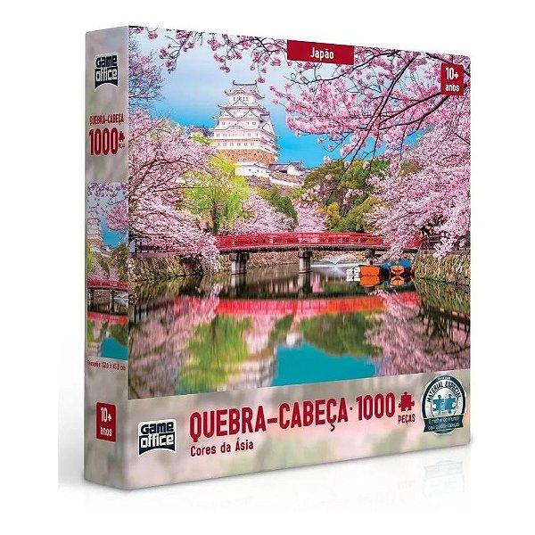 Quebra-Cabeça Cores da Ásia - Japão 1000 peças