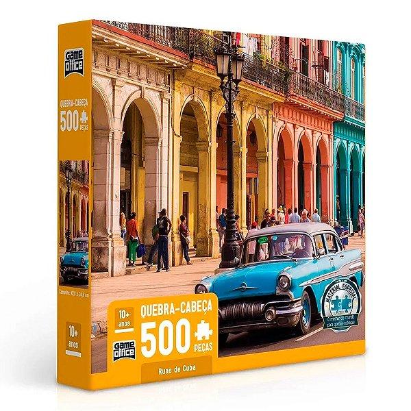 Quebra-Cabeças Ruas de Cuba 500 peças