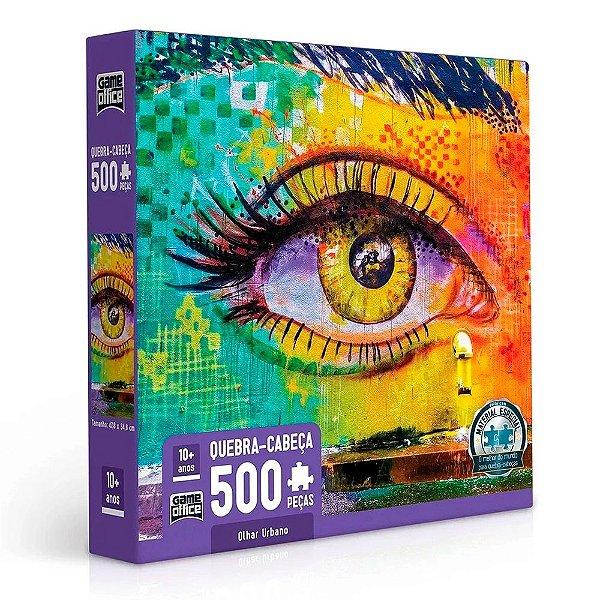 Quebra-Cabeça Olhar Urbano 500 peças