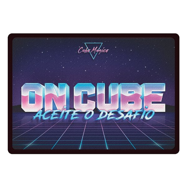 Tapete ON CUBE 80s