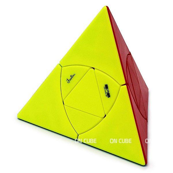Cubo Mágico Pyraminx Justin Eplett Qiyi Stickerless