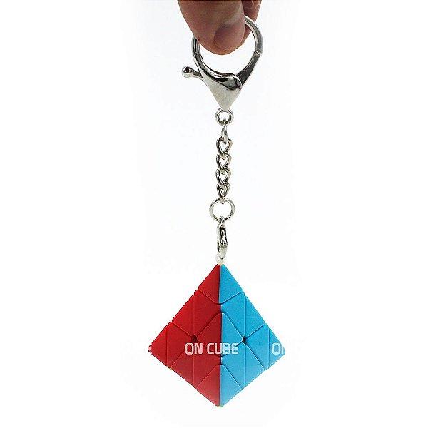 Chaveiro Cubo Mágico Pyraminx Qiyi