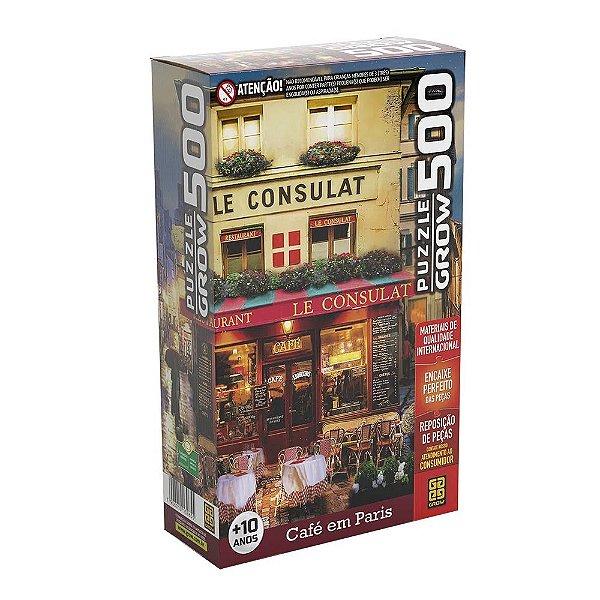Quebra-Cabeça Café em Paris 500 Peças