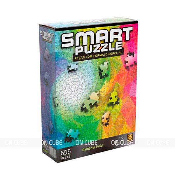 Quebra-Cabeça Smart Puzzle - Rainbow Twist 655 Peças
