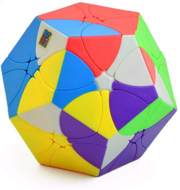Cubo Mágico Megaminx Rediminx Moyu Meilong