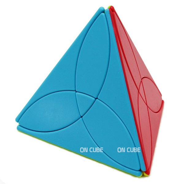 Cubo Mágico Pyraminx Clover Qiyi Stickerless