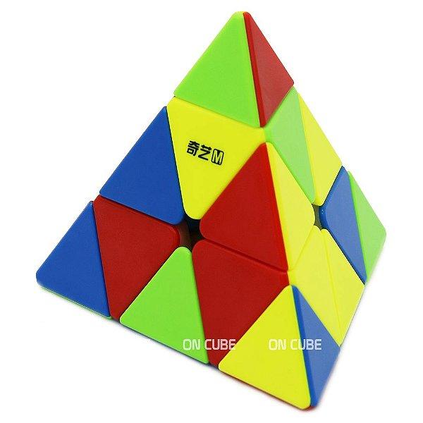 Cubo Mágico Pyraminx Qiyi MS Stickerless - Magnético