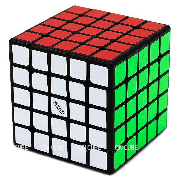 Cubo Mágico 5x5x5 Qiyi MS Preto - Magnético