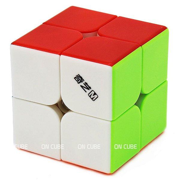Cubo Mágico 2x2x2 Qiyi MS Stickerless - Magnético