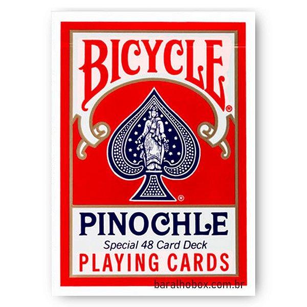 Baralho Bicycle Pinochle Vermelho