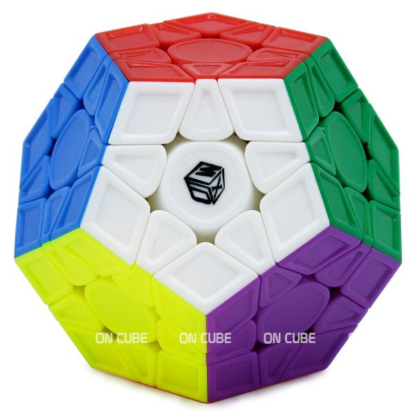Cubo Mágico Megaminx Qiyi X-Man Galaxy V2 L Stickerless