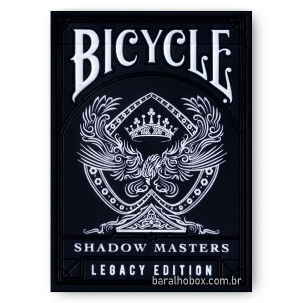 Baralho Bicycle Shadow Master V2 - Legacy Edition