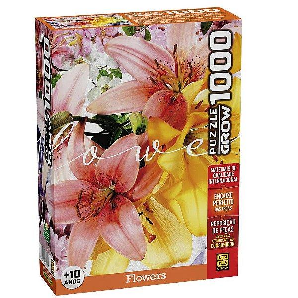 Quebra-Cabeça Flowers 1000 Peças