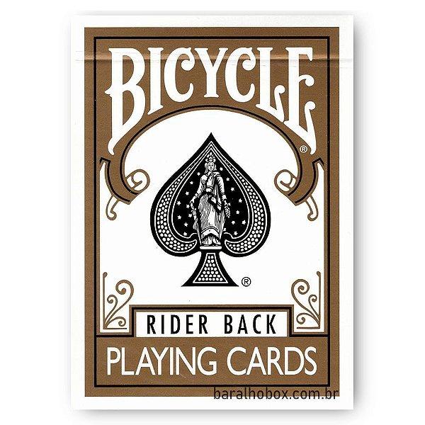 Baralho Bicycle Rider Back Gold