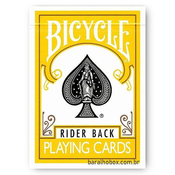 Baralho Bicycle Rider Back Amarelo