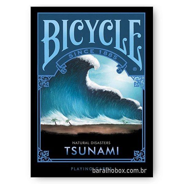 Baralho Bicycle Natural Disasters Tsunami