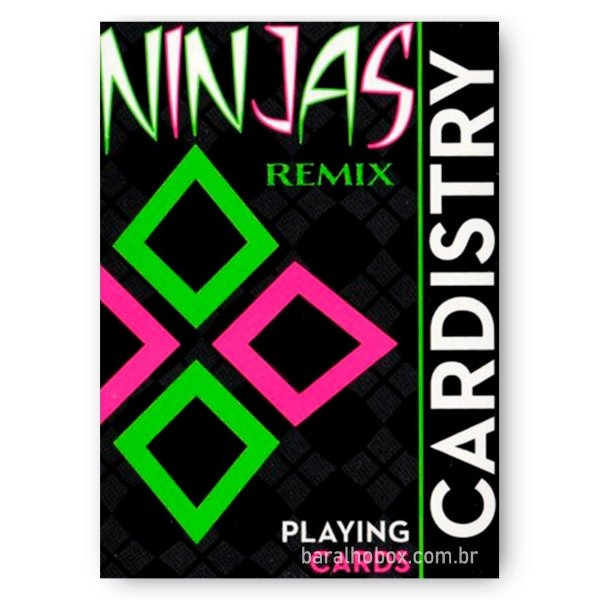 Baralho Cardistry Ninjas Remix