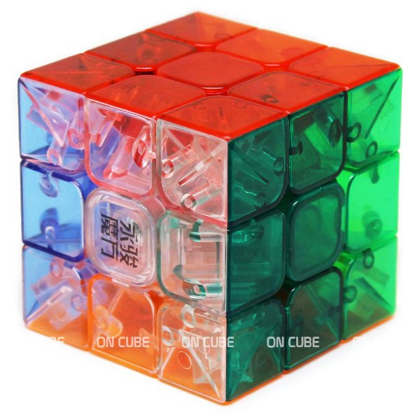 Cubo Mágico 3x3x3 Yulong Transparente