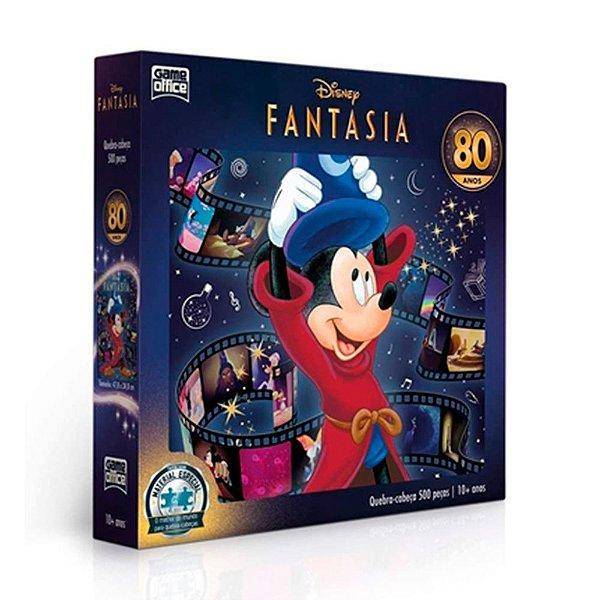 Quebra-Cabeça Disney Fantasia 80 Anos 500 Peças