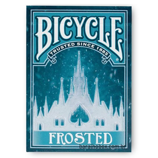 Baralho Bicycle Frosted