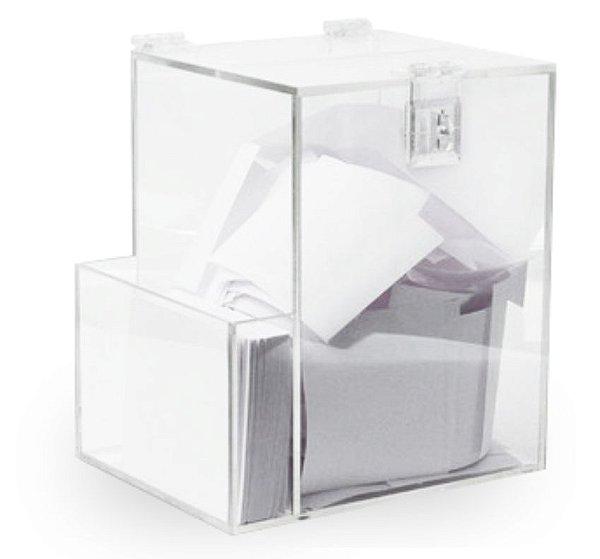 urna de sugestao  20cm X 16cm c/ bolsa