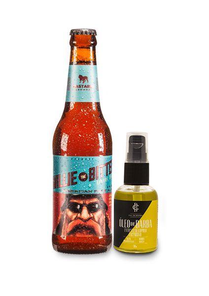 Kit de Presente: Óleo de Barba Bastards CIA. DA BARBA + Cerveja APA Bastards