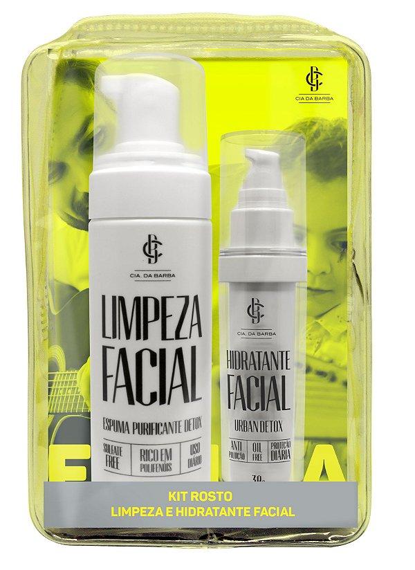 Seleção Skin Care: Espuma de Limpeza + Hidratante Facial