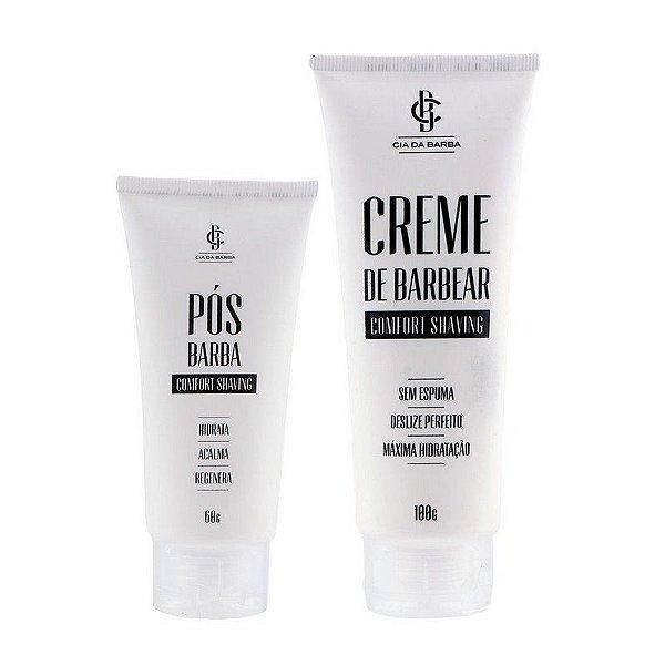 Kit Comfort Shaving - Creme de Barbear + Pós-Barba