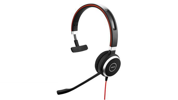Headset Jabra Evolve 40 Mono MS 6393-829-209