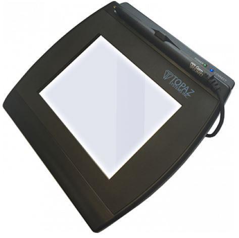 Coletor de assinatura Topaz Systems T-LBK766SE-WF Modelo Series Signaturegem LCD 4X5 WI-FI