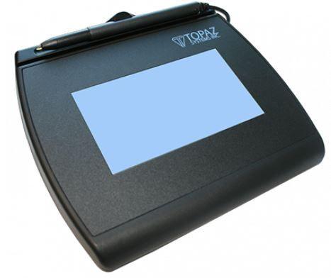 Coletor de Assinaturas Topaz Systems T-LBK755 Modelo Séries Signaturegem LCD 4X3